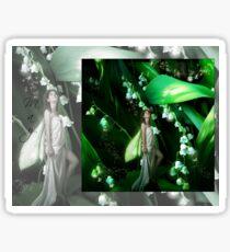 Lady Firefly Sticker
