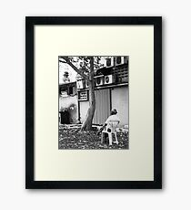 Sitting Alone - Peter Jackson Framed Print