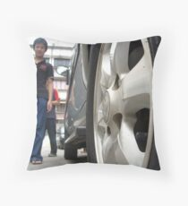 Passing - Andrew Throw Pillow