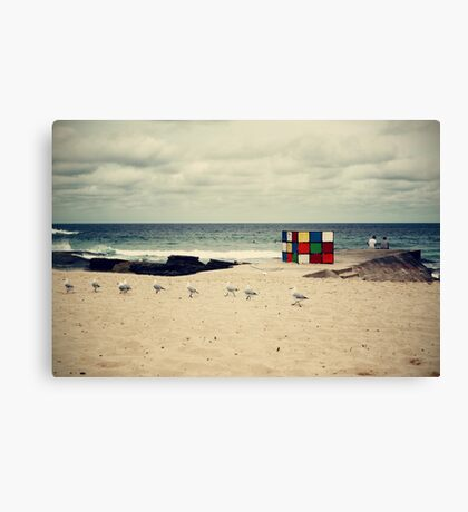 A Moment at Maroubra Canvas Print