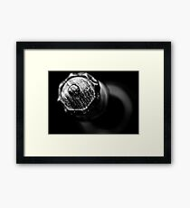 You can leave your hat on... Framed Print