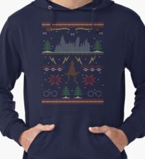 Ugly Potter Christmas Sweater Lightweight Hoodie