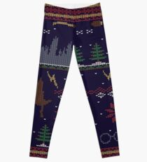 Ugly Potter Christmas Sweater Leggings