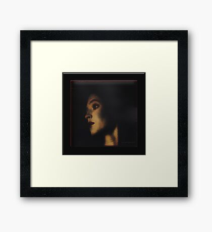 Senorita Framed Print