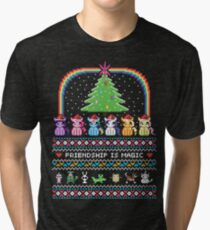 Happy Hearth's Warming Sweater Tri-blend T-Shirt