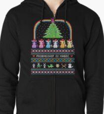 Happy Hearth's Warming Sweater Zipped Hoodie