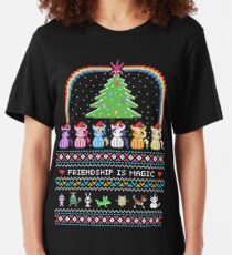 Happy Hearth's Warming Sweater Slim Fit T-Shirt