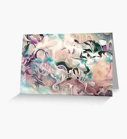 Fluidity Greeting Card