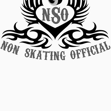 Non-Skating Official {black & silver} by KustomByKris