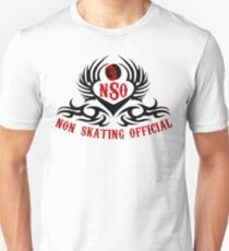 Non-Skating Official {black & red} Unisex T-Shirt