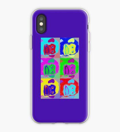 Warhol Musical Jolly Chimp phone case iPhone Case