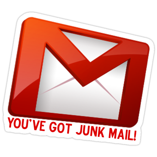 You've Got Junk Mail!  by Kyle Whitehouse