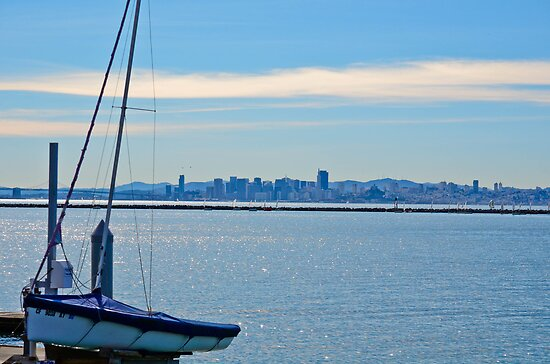 Boats & the City by HanieBCreations