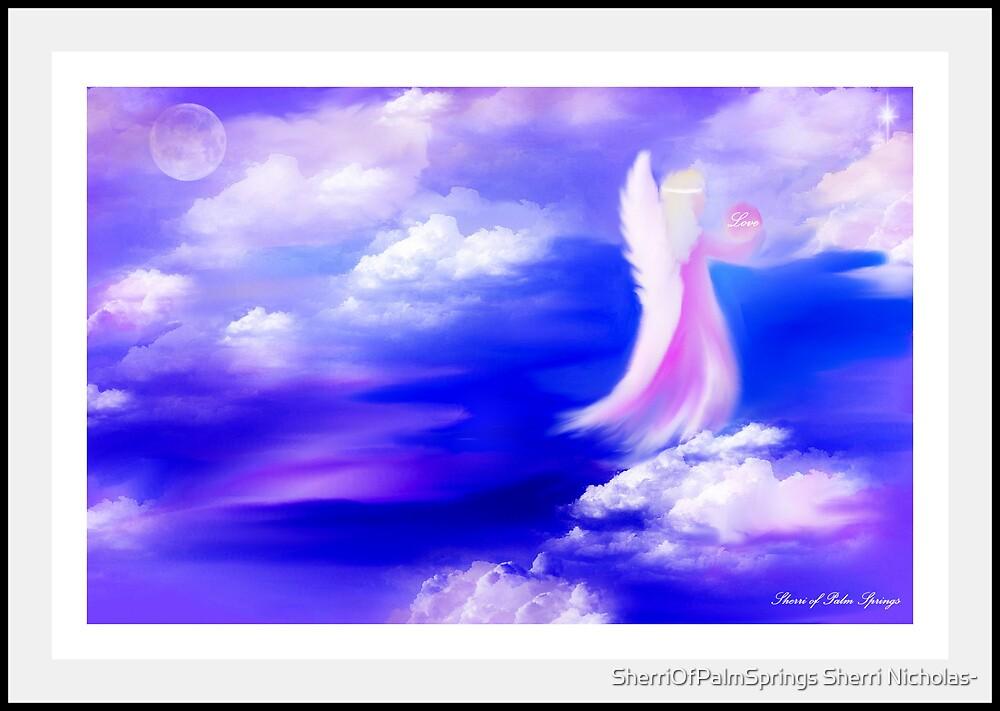 ANGEL OF BELIEF!!!  FEBRUARY ANGEL by SherriOfPalmSprings Sherri Nicholas-