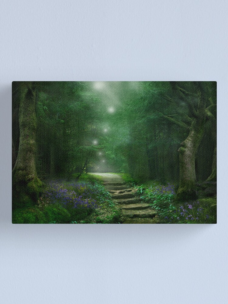 Alternate view of Spirit of the Woods Canvas Print