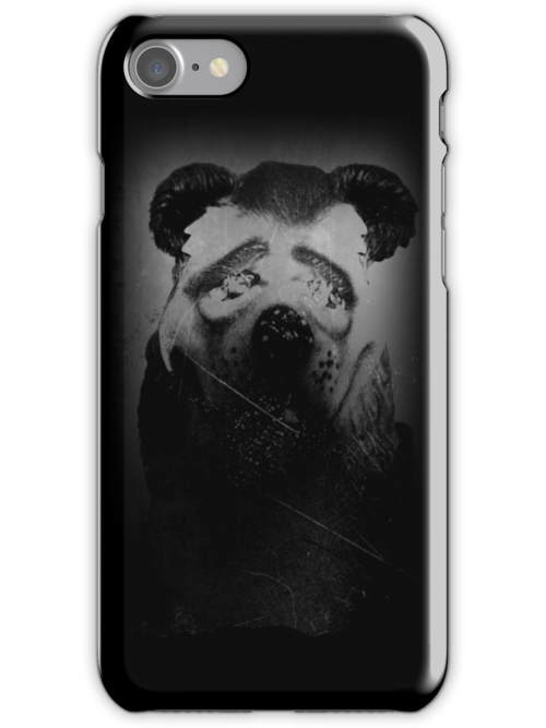 Fear Bear phone case by Margaret Bryant