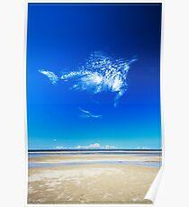 Blue Skies, Smiling at Me Poster