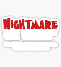 Nightmare on Wall Street.  99%. Sticker