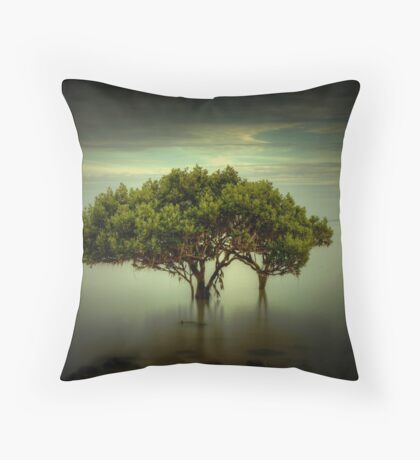 Mangrove Tree Throw Pillow