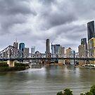 Brisbane's Story Bridge by Keith G. Hawley