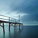 Morning Blue - Cleveland Qld Australia by Beth  Wode