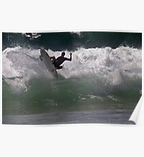 Boosted Surfer @ Dee Why Poster