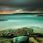 An Aqua Dawn von Mark  Lucey