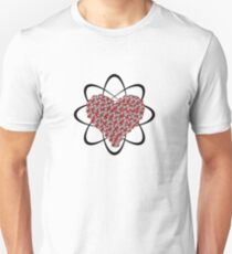 Heart Isotope Unisex T-Shirt