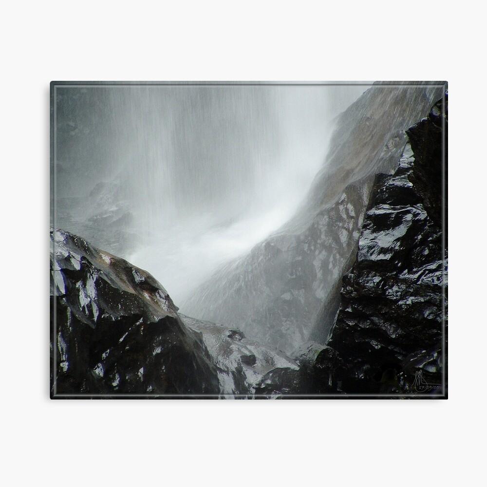 Zillie Falls Canvas Print