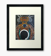 Bird Tribe Framed Print