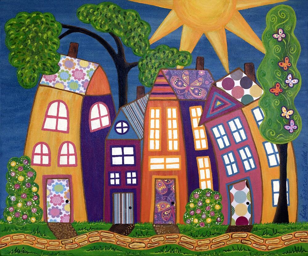 Happy Town by Lisafrancesjudd