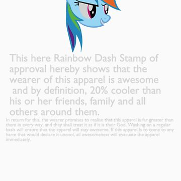 Be As Awesome As RainbowDash! by Ryolo
