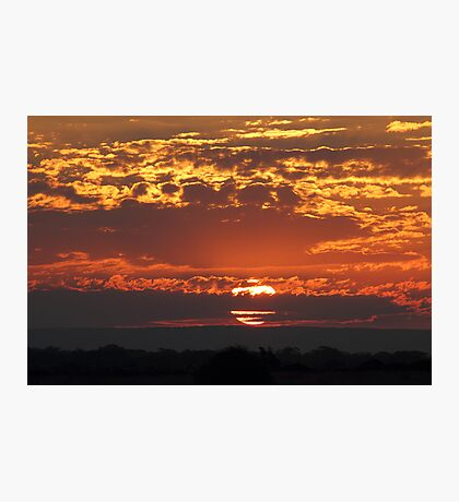 """Sunset at 3338"" Photographic Print"