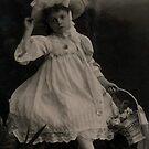 Little Jessie; Sunday best, 1905. by Ian A. Hawkins