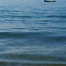 Boat out to Sea Palolem by SerenaB