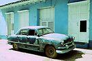 American car, Trinidad, Cuba by David Carton