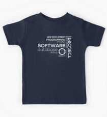 Programmer : Typography Programming Kids Clothes