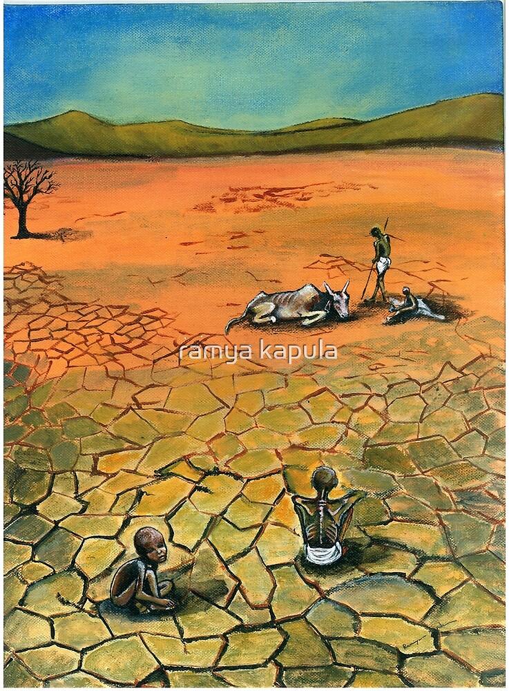 Famine Stalks The Earth Elsewhere by ramya kapula