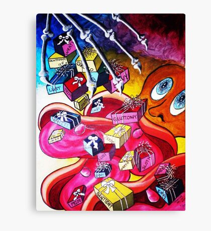 VISION OF VICES Canvas Print