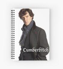 Cumberbitch Spiral Notebook