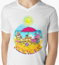 Fun In The Sun Men's V-Neck T-Shirt