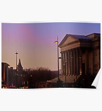 St. Georges Hall Sunset Poster