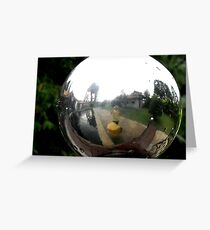 Fish Eye - Peter Jackson Greeting Card