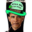 Barack Obama Guinness by Kinnally