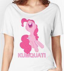 Kumquat! Kumquat! Kumquat!- Pinkie Pie Women's Relaxed Fit T-Shirt