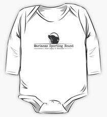 Marianas Sporting Hound (Black) One Piece - Long Sleeve