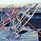 Cobwebs on the roof by Katarina Kuhar