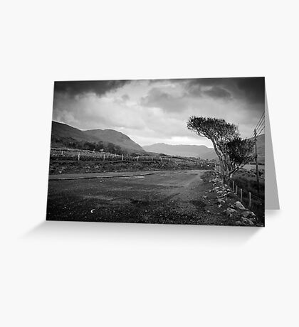 Killary Harbour Greeting Card