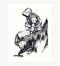 Iron Giant Art Print