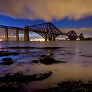 Forth Rail Bridge by KitDowney